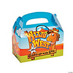 """Wild West"" VBS Treat Boxes"