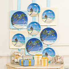 DIY Party Plates as Décor Idea