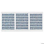 Monochromatic Blue Self-Adhesive Pearls