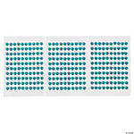 Monochromatic Turquoise Self-Adhesive Pearls