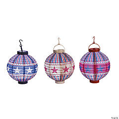 All American Vintage Light-Up Lanterns