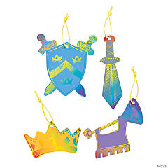 "Magic Color Scratch ""Mighty Kingdom"" Ornaments"