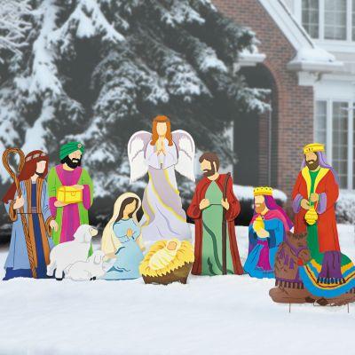 Christian Christmas yard Decorations