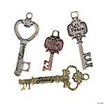 Sentimental Skeleton Key Charms