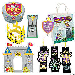 """Mighty Kingdom"" Medium Craft Kit Assortment"