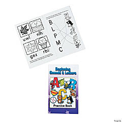 Beginning Sounds & Letters Activity Books
