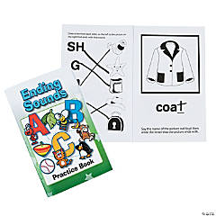Ending Sounds Activity Books