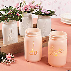 Personalized Glass Jars Idea