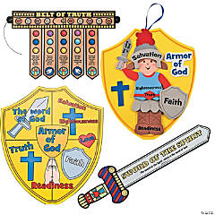 """Armor of God"" Craft Kit Assortment"