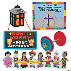 """Mighty Kingdom"" Bible Verse-A-Day Craft Kit Assortment"