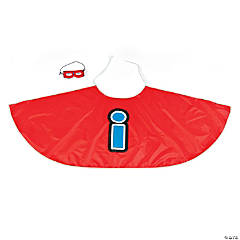 Superhero Vowel Capes with Masks