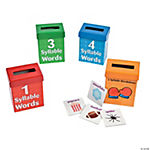 Syllable Sorting Boxes