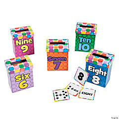 Number Sense Sorting Boxes 6 - 10