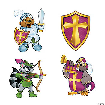 """Mighty Kingdom"" Cutouts"