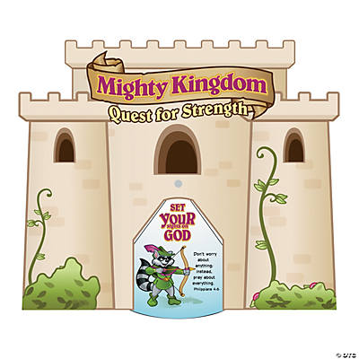 """Mighty Kingdom"" Story Wheels"