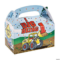 """I Dig Being 1"" Treat Boxes"