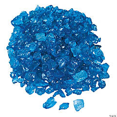 Blue Colored Ice