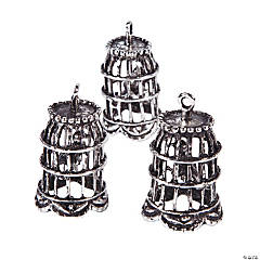 Bird Cage Pendants