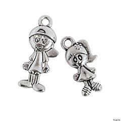 Boy & Girl Charms