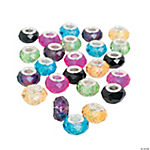Fashion Crystal Large Hole Beads