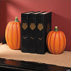 Pumpkin Bookends