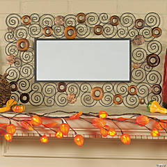 Fall Mantel Décor