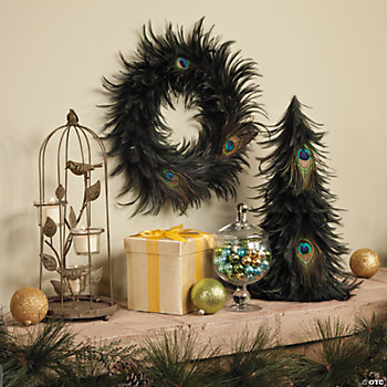 Peacock Feather Décor