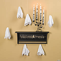 Welcome Friends with Candelabra