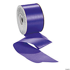 Regal Purple Satin Ribbon