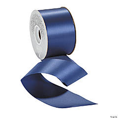 Navy Satin Ribbon