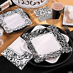 Black And White Graduation Party Supplies
