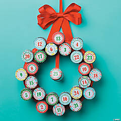 DIY Advent Wreath Idea