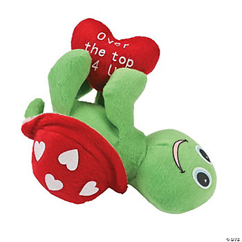 Plush Valentine Turtle