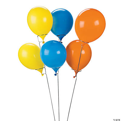"Tall Balloon Sticks - 42"" Metal (6pc)"