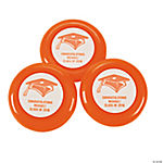 Personalized Orange Grad Mini Disk