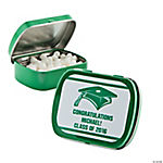 Personalized Green Graduation Mint Tins