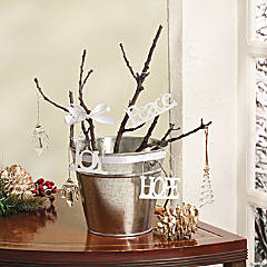 Christmas Ornament Twig Tree