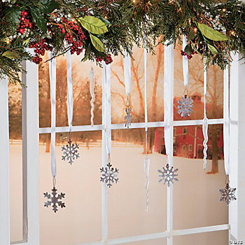 DIY Winter Wonderland Window