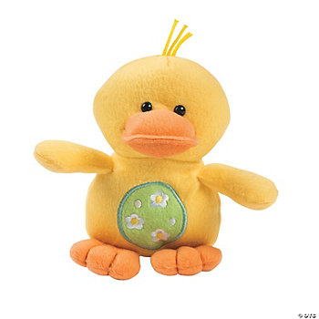 Plush Easter Duck
