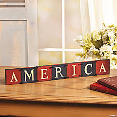 """America"" Jointed Blocks"