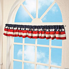 Stars & Stripes Valance