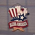 """Bless America"" Wall Décor"