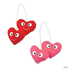 Plush Valentine Hearts