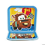 "Disney's Cars ""1st Birthday"" Champ Dessert Plates"