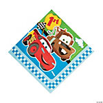 Disney's Cars 1st Birthday Champ Luncheon Napkins