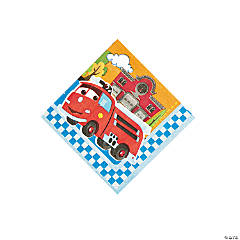 Disney's Cars 1st Birthday Champ Beverage Napkins