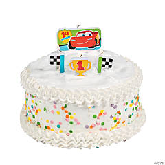 "Disney's Cars ""1st Birthday"" Champ Molded Candle Set"