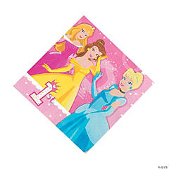 Disney Princess 1st Birthday Luncheon Napkins