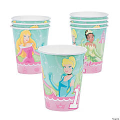 Disney Princess 1st Birthday Cups