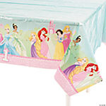 Disney Princess 1st Birthday Table Cover